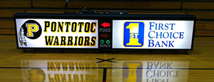 Pontotoc Scorers Table