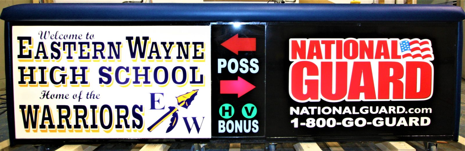 Eastern Wayne High school scoring table North Carolina Army National Guard NCARNG