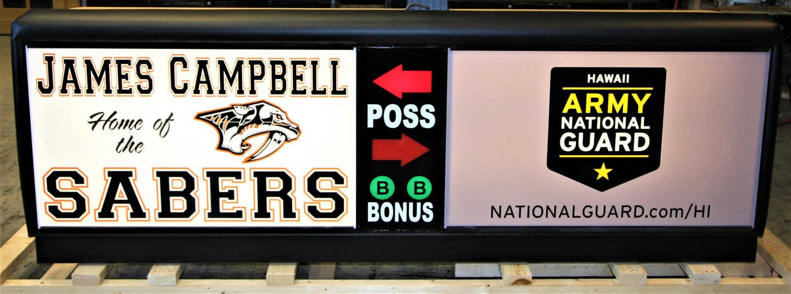 James Campbell High School Scoring Table HIARNG