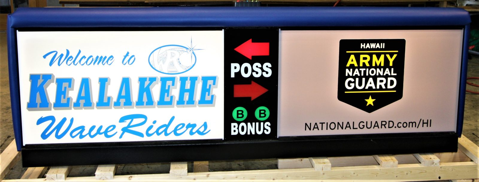Kealakehe High School Scoring Table HIARNG